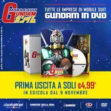 Gundam Mobile Suit Serie completa 11 DVD.Gazzetta dello sport.