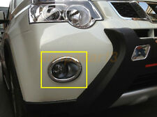 Light Lamp Fit For Nissan 2012 X-Trail ABS Chrome Front Fog Cover Trim HOT