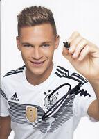Joshua KIMMICH - DFB-Nationalspieler, DFB-Karte WM 2018, Original-Autogramm!