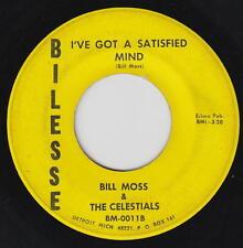 Bill Moss & The Celestials 45rpm Bilesse BM-011 Detroit Soul Gospel