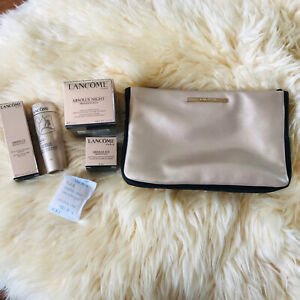 Lancome Absolu Small Skincare Set Of 4 Items With Pouch All New
