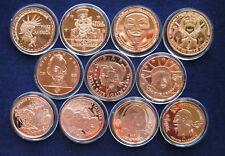 Zombie-Serie 11 x 1 Unze Kupfer, 11 x 1 Oz, Copper Round, Kupfermedaillen