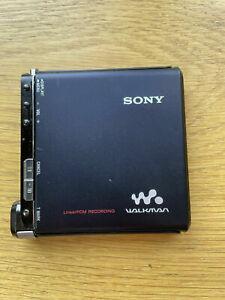 Lecteur enregistreur Minidisc Sony MZ-RH1 Hi-MD Net MD bien lire
