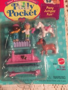 Vintage Bluebird Polly Pocket 1995 Pony Jumpin Fun REPLACEMENT Doll ONLY