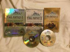 Final Fantasy XI Vana'Diel Collection 2007 Original PC Game + 3 Expansion Packs