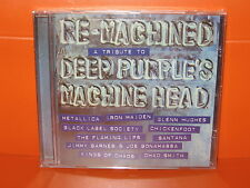 CD RE-MACHINED - A TRIBUTE TO DEEP PURPLE'S MACHINE HEAD - IRON MAIDEN HUGHES