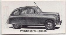 Vintage Standard Vanguard 2 Litre Saloon British Car Auto 1950s Ad Trade Card