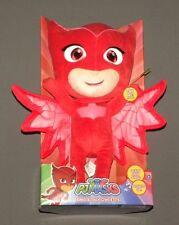 """PJ Masks Sing & Talk Owlette Talking Plush 14"""" Stuffed Doll Lights Disney Junior"""