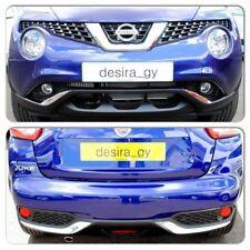NISSAN JUKE 2014 Chrome Paraurti anteriore + posteriore consente ritagliare NUOVO ORIGINALE ke600bv009cr