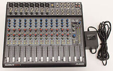 Alesis MultiMix 16 FireWire 16 Channel Analog Mixer - Computer Audio Interface