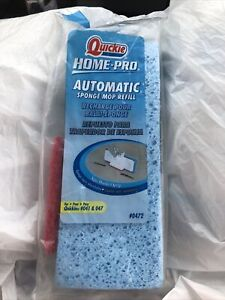 Quickie Home-Pro Automatic Sponge Mop Refill - 0472 For Quickie 041 & 047
