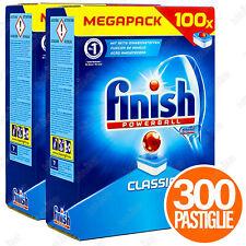 300 TAB FINISH POWERBALL CLASSIC DETERSIVO PER LAVASTOVIGLIE PASTIGLIE STOVIGLIE