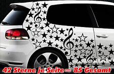 85 estrellas Star Auto pegatinas set sticker tuning hada Stylin wandtattootribel apovo