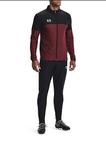 Brand New Under Armour Challenger Tracksuit black/Red RRP:£ 59.99 Size Small