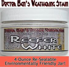 Reefer White Weathering Stain-4oz Doctor Ben's Scale Consortium Craftsman Scale