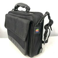 Apple Macintosh Vintage 90s Macbook Laptop Case Shoulder Bag Briefcase Black