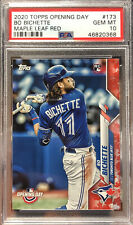 2020 Topps Opening Day Maple Leaf Bo Bichette Canada Exclusive PSA 10 - Low Pop