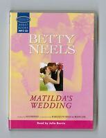 Matilda's Wedding - by Betty Neels - MP3CD - Audiobook