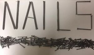 Nails! Ring, Lost Head, Galvanised, Oval, Twist Etc. Big Packs! 450g, 1KG, 2.5KG