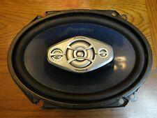 """New listing Pioneer Ts-A6880R 4-Way 8""""x6"""" Auto Car Speaker *1 Single Speaker* 240 Watts!"""