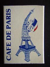 CAFE DE PARIS GARDEN SETTING 111 LATROBE ST MELB 6622381 MATCHBOX