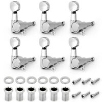 Guitar Tuning Pegs Tuners Keys String Machine Heads For Fender Parts 6R Inline