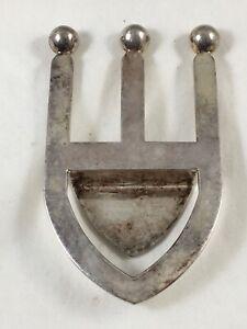 ST JAMES Brazil Silver Plated Bottle Opener ? Modernist