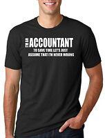 Accountant T-shirt Funny Accountant Tee Gift CPA Tax Accounting T-shirt