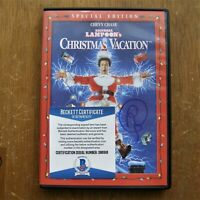 Christmas Vacation Randy Quaid Signed DVD BECKETT COA