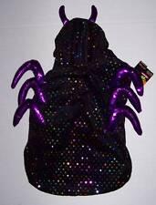 Shiny Spider dog Costume Size Large Halloween