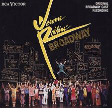 JEROME ROBBIN'S BROADWAY - 2 CD - ORIGINAL BROADWAY CAST RECORDING ( RCA VICTOR)
