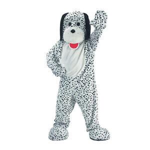 Dress up America-Unisex Attractive Dalmatian Mascot Costume-Adults Cosplay Set