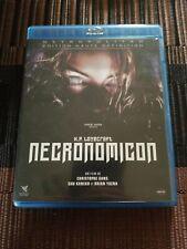 Necronomicon (Blu-ray) Jeffery Combs! REGION B RARE ANTHOLOGY HORROR!