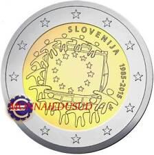 2 Euro Commémorative Slovénie 2015 - Drapeau Européen