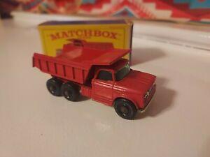 Matchbox Lesney #48 Dodge Dumper Truck. Mint  In Original Box