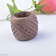 Raffia Paper Ribbon 16 Colours Decorating Flower Gift DIY Craft Scrapbooking