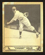 1940 Play Ball High # Card; Chubby Dean #193; EX-NM; Philadelphia Athletics