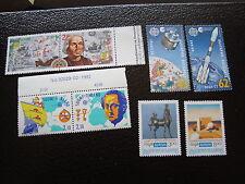 BULGARIE - timbre yvert et tellier europa n°3371 3372 3445 3446 3505A/B n**