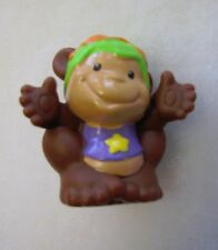 Fisher Price Little People CIRCUS MONKEY for CARNIVAL Performing Monkey Goggles