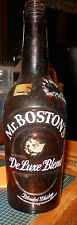 MR BOSTON'S DELUXE BLEND ACL WHISKEY QT BOSTON MASS BOTTLE