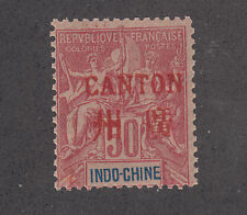 France, China, Canton Sc 11 MNH. 1901 50c red ovpt