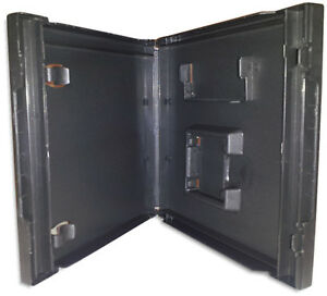 NINTENDO DS =BLACK= Replacement Game Case with *Game Boy Advance Slot 50-Pak