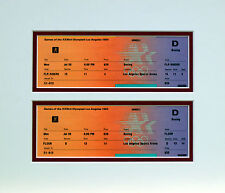 Olympic Boxing Tickets 1984 Original Olympics Los Angeles
