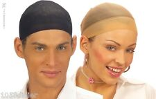 2 FILET Noir Chair Cache Cheveux PERRUQUE Déguisement Adulte Costume Homme Femme