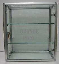 Countertop Glass Display Showcase w/ Swing Door & Lock