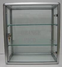 Countertop Glass Display Showcase w/  Swing Door & Lock