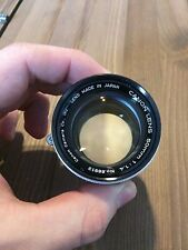 Canon Lens 50mm 1.4 No. 66912 M39 mount