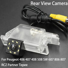Car Rear View Camera for Peugeot 406 407 408 508 607 806 807 RCZ Partner Tepee