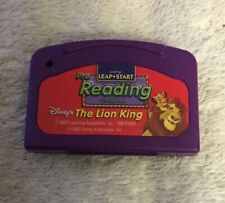 LeapPad Lion King - Pre Reading Leap Start - Cartridge Only