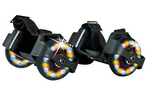 Schildkröt ,Rollers Fersenroller Rollschuhe Verstellbar mit 3 LED Flash